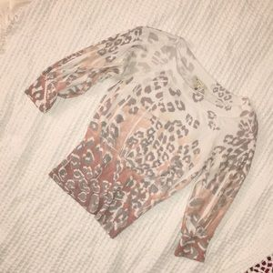 Forever 21 Leopard Print Sweater
